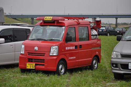 SUZUKI EVERY Fire truck
