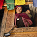 Small photo of Samir Thapa-shop keeper in Lho Gaon