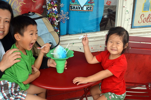 Our favorite shave ice