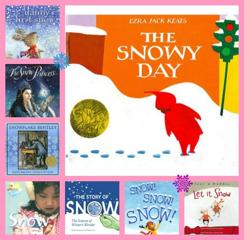 The Snowy Day collage
