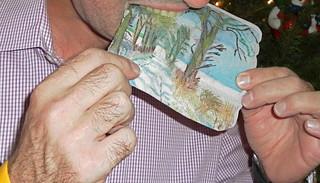 An Edible Paper Sourp Dzanunt Card