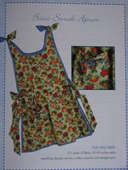 basic smock apron