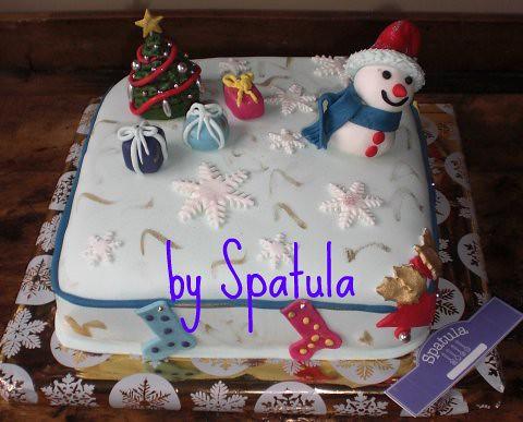 Yılbaşı Pastası 2 by Demetin spatulasi