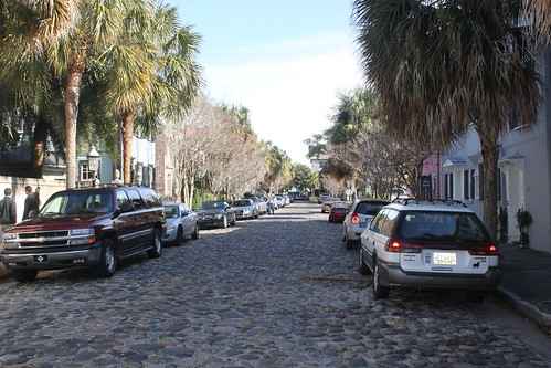 Charleston Cobblestone Street by shoemap