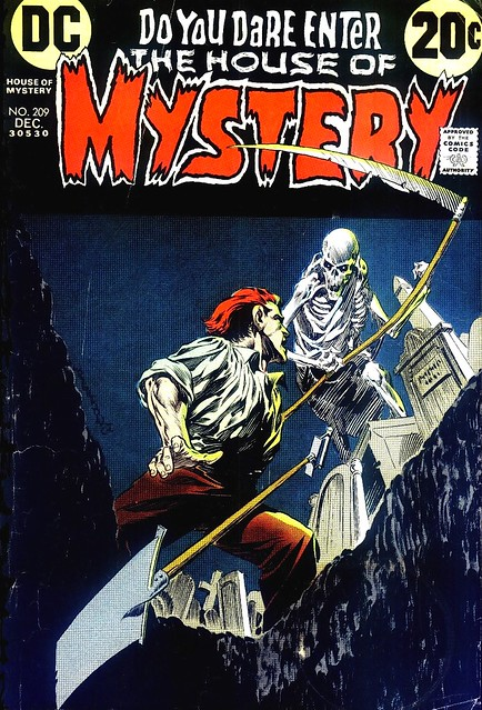 House of Mystery 209 cover by Bernie Wrightson