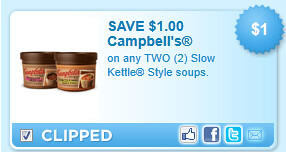 Slow Kettle Style Soups. Coupon