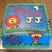 JJ's 1st birthday cake