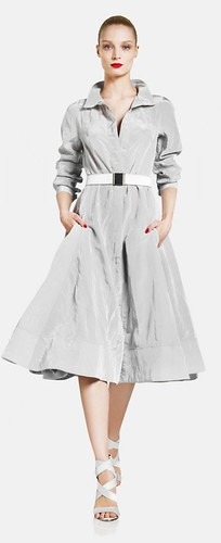 Donna Karan 2012 Pearl shirtdress