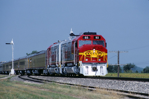 lake up view ks emd atsf fp45 1991topekarrdaysspecial
