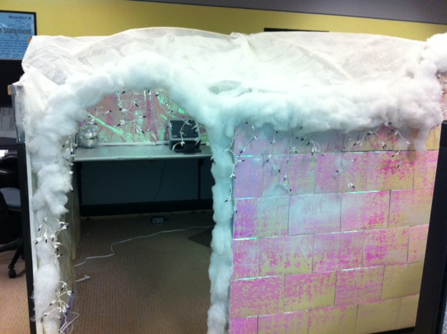 Igloo Cubicle Flickr Photo Sharing