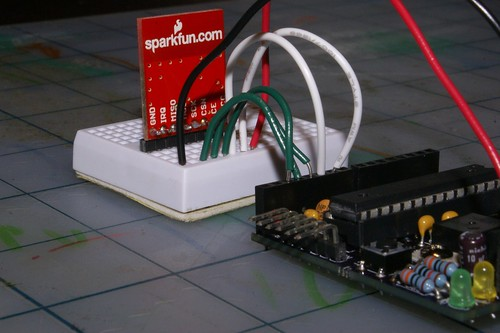Sparkfun nRF24L01+ module connections