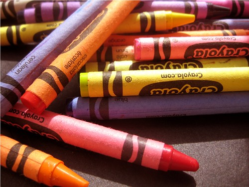 Crayons by PhotoPuddle