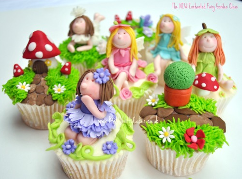Fairy princess cupcakes flickr photo sharing for How to make fairy cupcakes