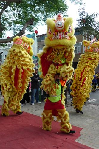 Lion Dance - Tainan, Taiwan