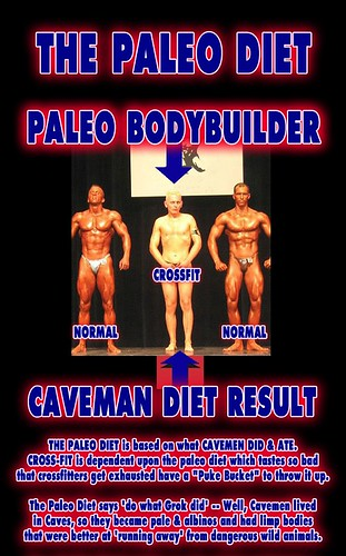 Crossfit Bodybuilder - Robb Wolf Mark Sisson Primal Diet Paleolithic Caveman NeanderThin Panu Natural Bodybuilding - 1 Medium