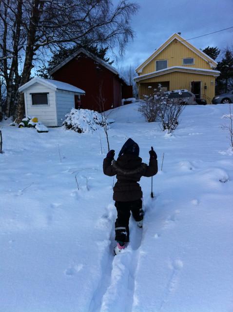 Skitur på Bostad