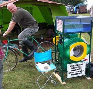 lavadora a pedales
