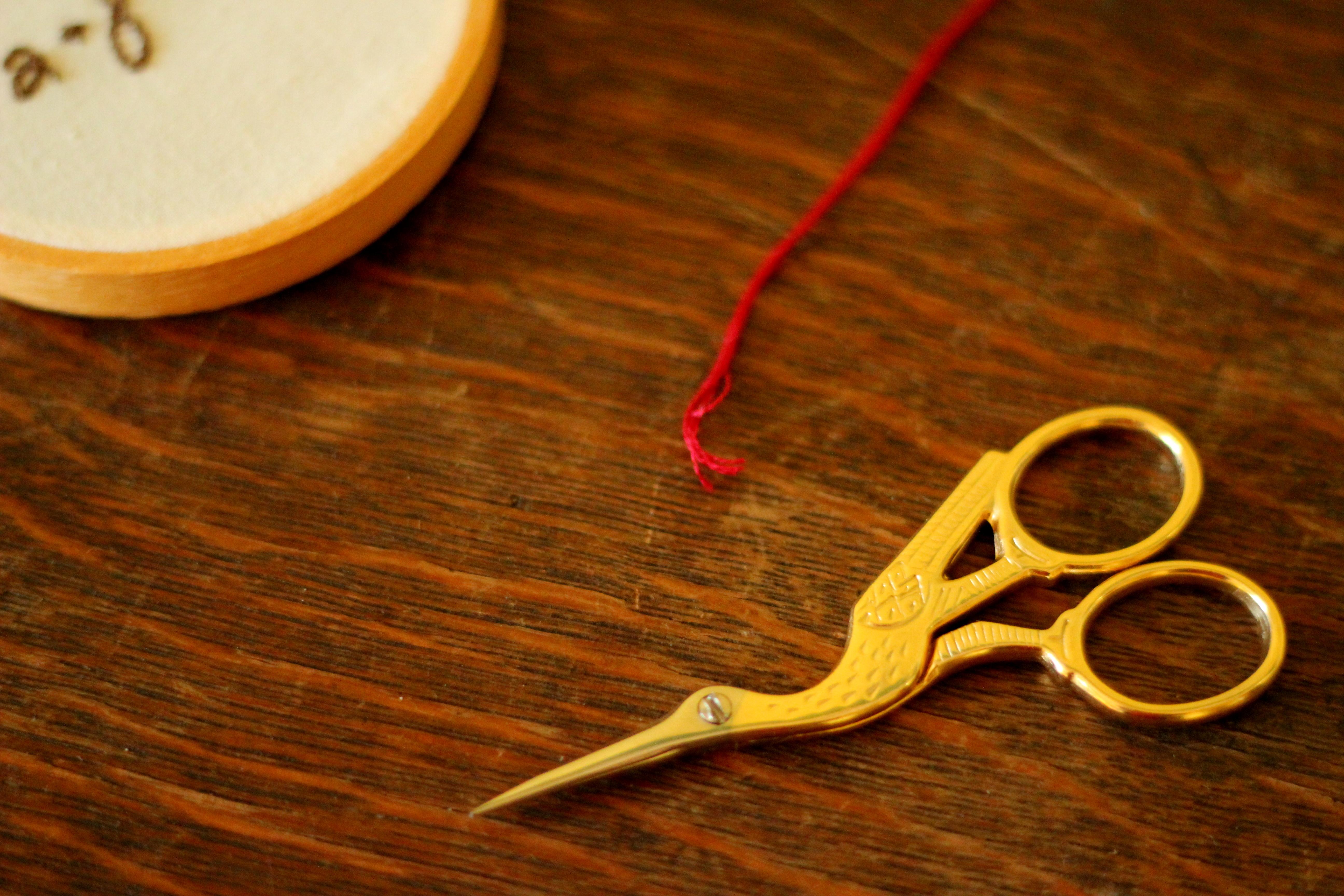 my sweet new scissors