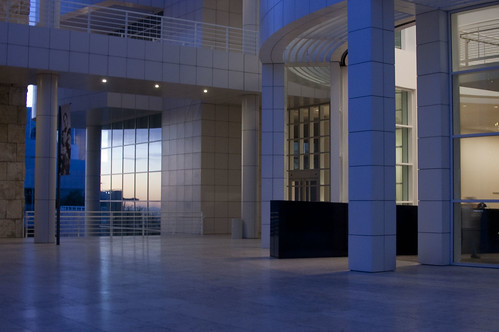 getty at twilight