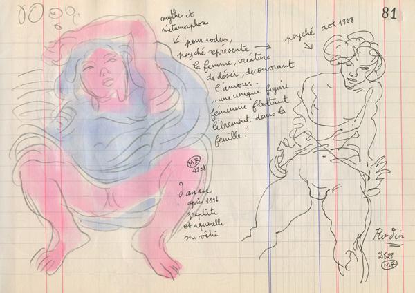 auguste rodin - 300 dessins