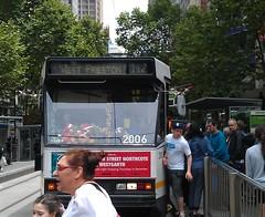 Christmas tram 112