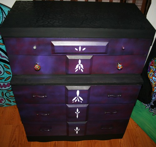 Five Drawer Dresser by Rick Cheadle Art and Designs