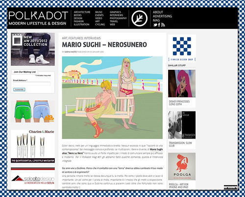 nerosunero on Polkadot Magazine by nerosunero