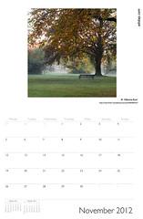 ADIDAP Calendar 2012 UK November