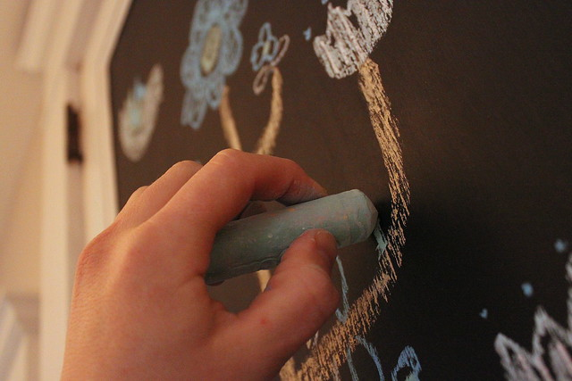 Chalkboard Art - Close-up