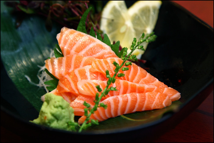 salmon-belly-sashimi