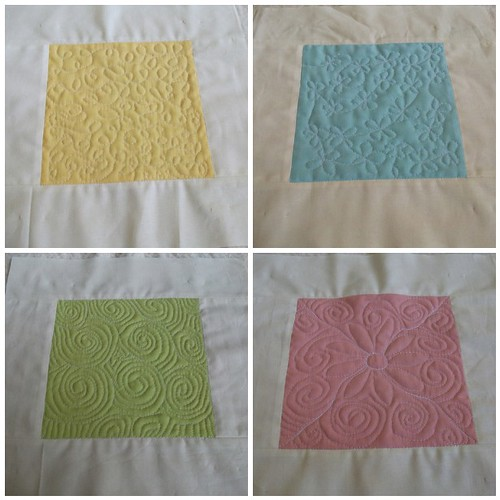 Free Motion Quilt Along Quokka Quilts by sewhappy45