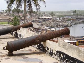 Defence works of Elmina Castle (Ghana 2005)