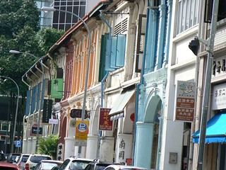 Colonial street near Chinatown (Singapore 2007)