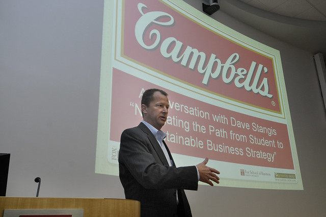 Dave Stangis of Campbell's Soup (April 2010)