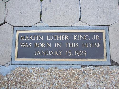 MLK's house