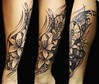 """lilies and dream catcher tattoo realistic black and grey steli <a href=""""http://www.transylvaniarites.mfbiz.com"""" rel=""""nofollow"""">www.transylvaniarites.mfbiz.com</a>"""