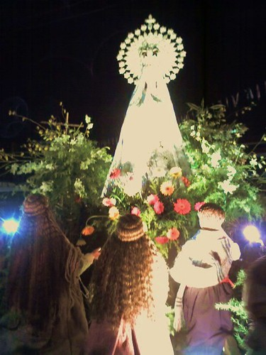 Our Lady of Fatima, after the procession