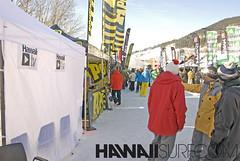 Stand HawaiiSurf au Snow Avant Première 2012