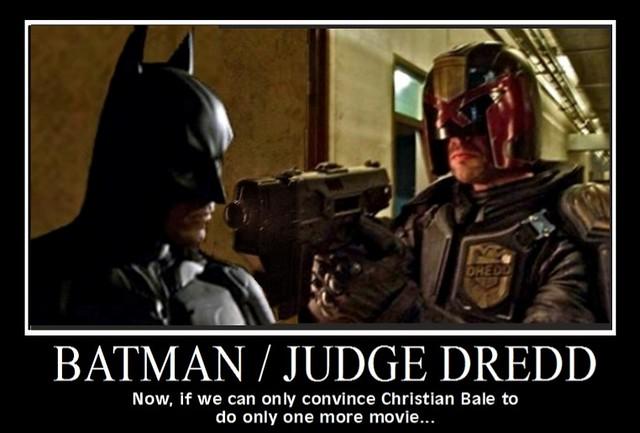 Why we want a batman judge dredd crossover movie flickr photo