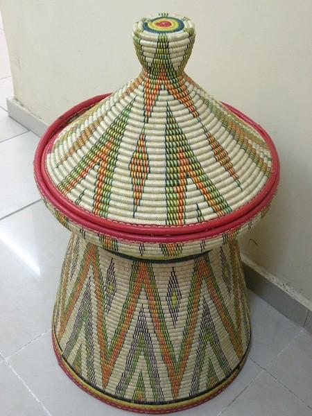 traditional ethiopian basket