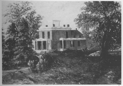 Fred Welton house painted by daughter Mary