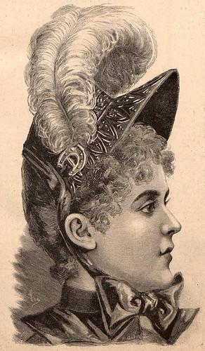012- La Última moda-revista ilustrada hispano-americana, del 30 de enero de 1888-© MemoriadeMadrid