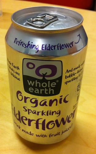 Whole Earth - Organic Sparkling Elderflower 1 by softdrinkblog