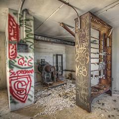 Elevator Motor in Decay