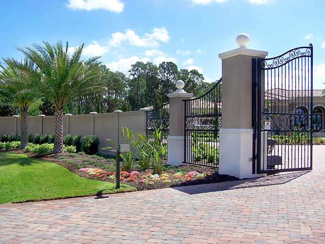 Precast concrete fence wall dallas texas 2 flickr photo sharing - Precast concrete fences ...