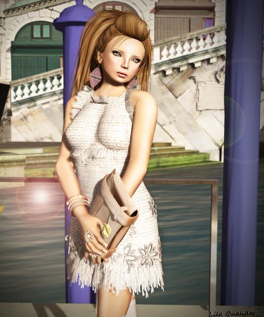 Mimikri - Dress Yvette - Sand