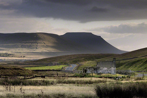 Ingleborough, North Yorkshire, England.