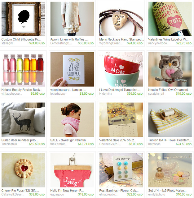 Etsy Treasury copy