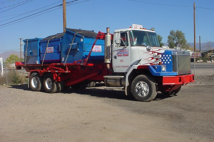 All American Waste Removal WHITEGMC/Autocar Roll Off