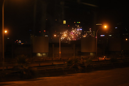 Random Fireworks from the bus